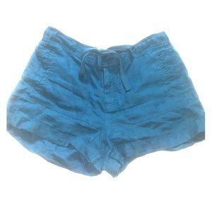 100% Linen Lou & Grey Shorts